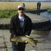John Graham with 4lb Ennell trout