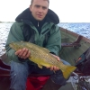 Trolling near Lilliput can produce super trout