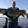Olivier Coiffard with super Lough Ennell pike.