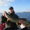 St. Patrick\'s day pike on Lough Ennell.